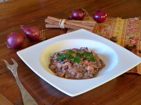 Photo du plat réalisé suivant la recette de 1570